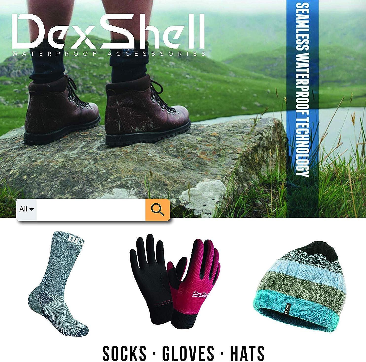 DexShell Waterproof Ultraflex Socks with a Helicase sock ring