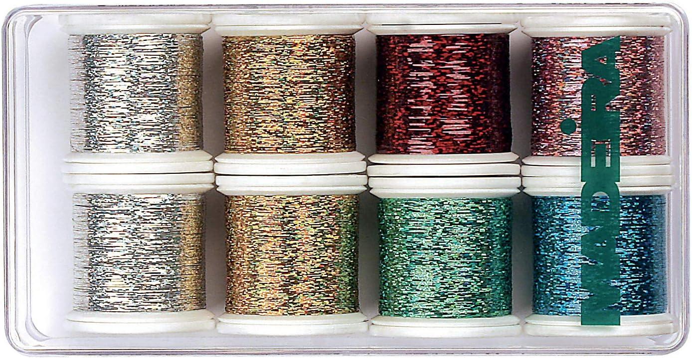 Madeira Metallic Thread Pack Jewel 8  20928013