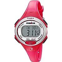 Timex Women's TW5K903009J Ironman Essential 30 Pink Resin Strap Watch