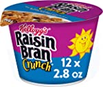 Kellogg's Raisin Bran Crunch, Breakfast Cereal in a Cup, Original, Good