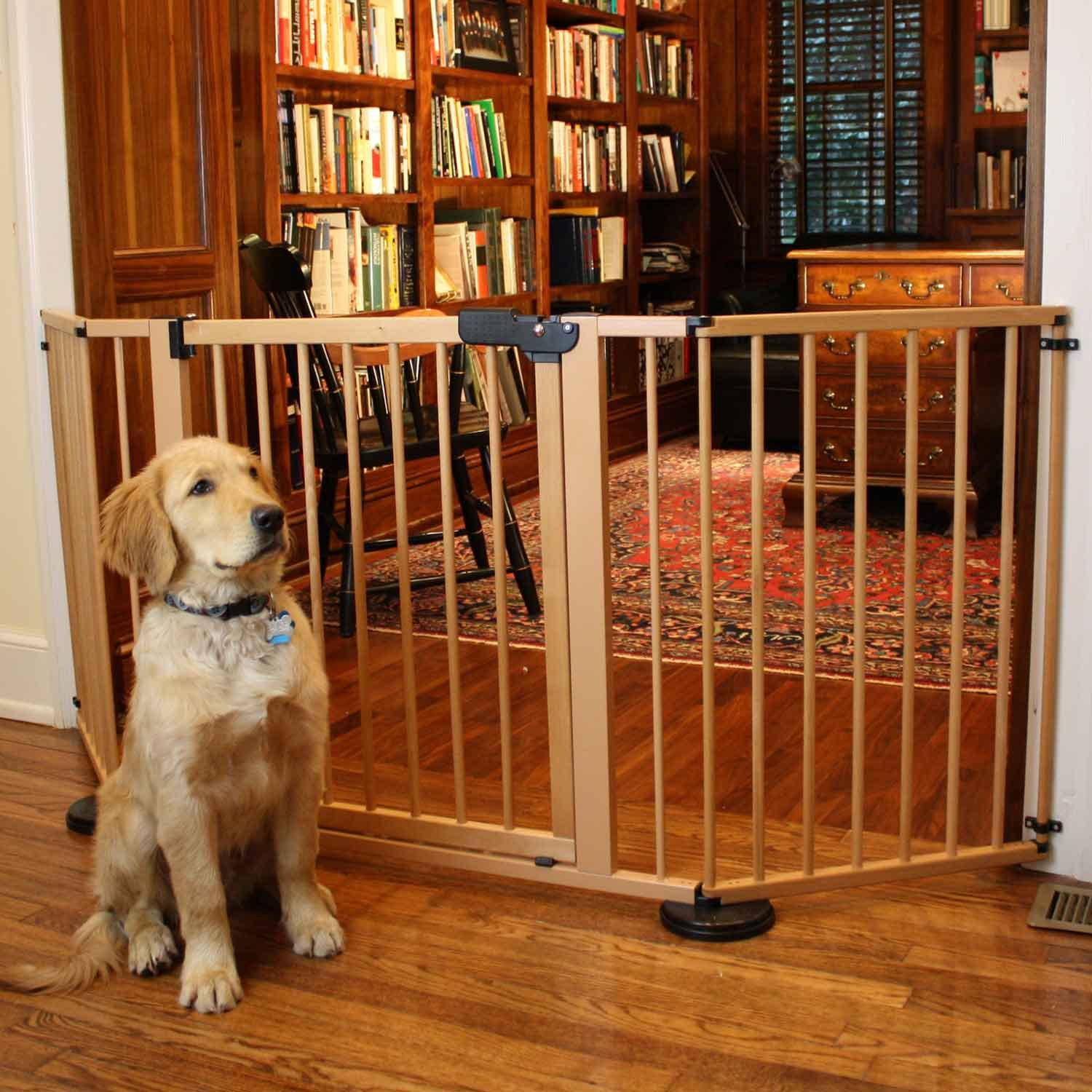 Amazon.com : Cardinal Versagate Pet Gate, 40 Inch L By 31 Inch H By 3 Inch  W, White : Indoor Safety Gates : Pet Supplies