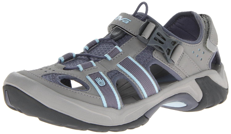 Teva Women's Omnium Sandal,Slate,6 M US: : Schuhe