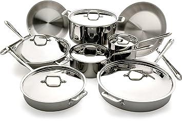 All-Clad inoxidable Juego Set de cocina: Amazon.es: Hogar