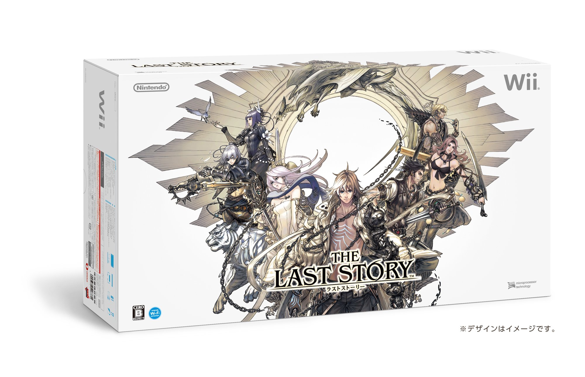 The Last Story Special Pack Body Wii (Body Wii, Classic Controller Pro, with Wii Software ''The Last Story'') [End] Production Manufacturer