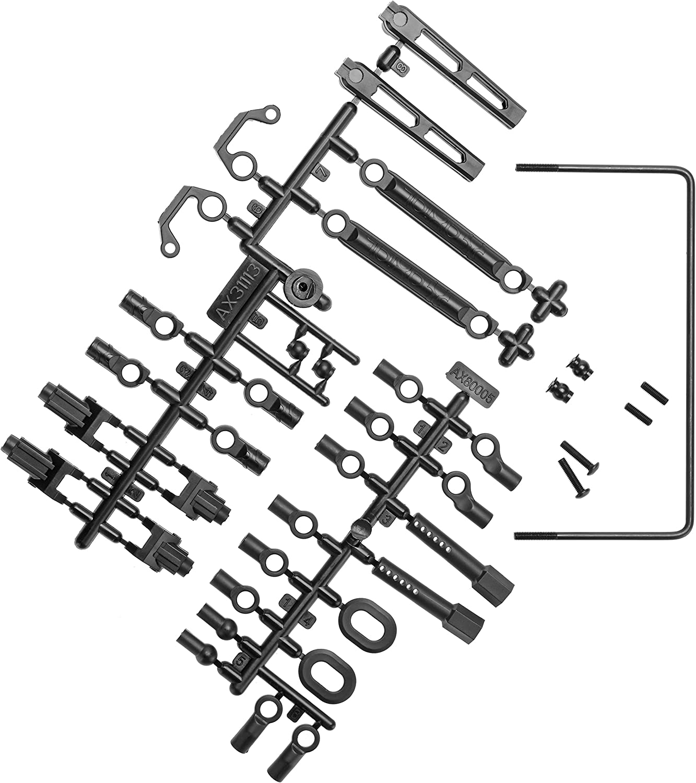 Axial Rear Sway Bar Set Soft RR10 AX31331 Bomber SMT10 MAX-D Reduce Torque Twist