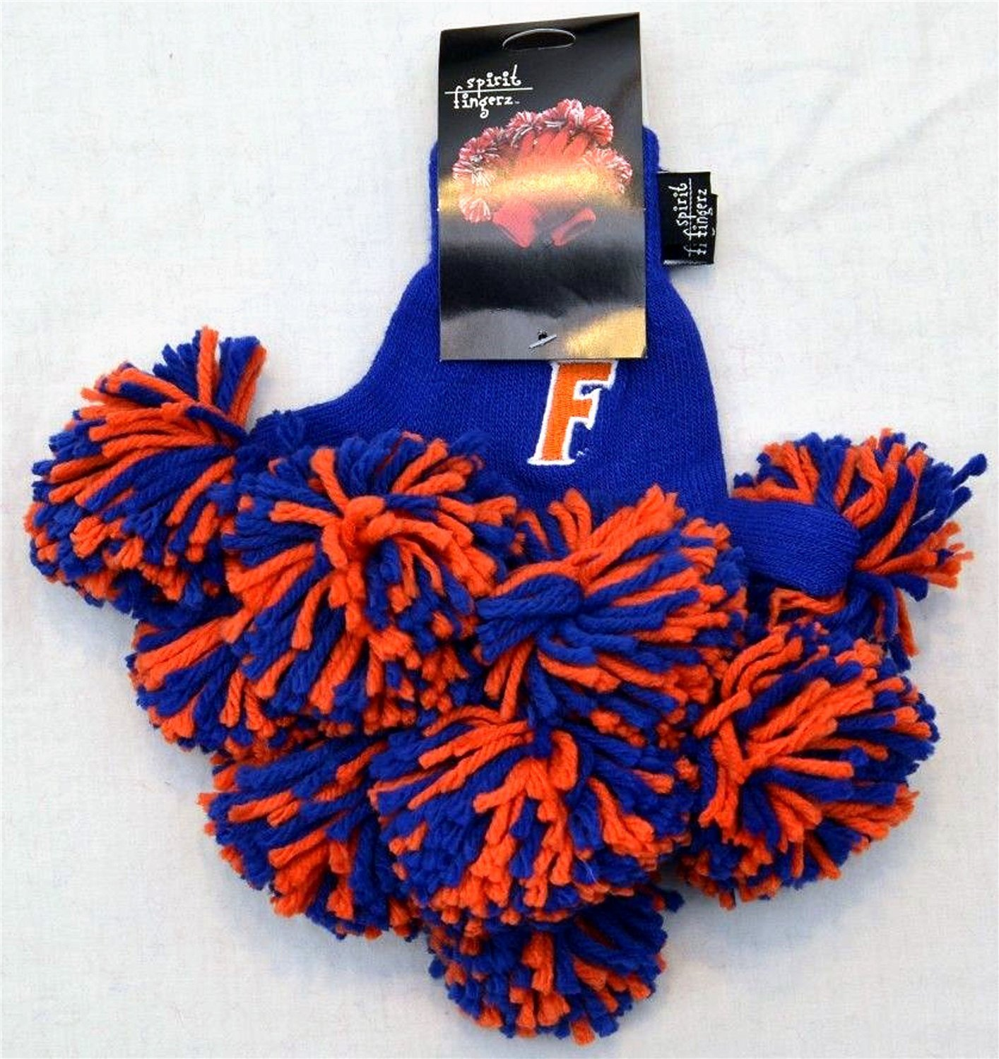 Amazon University Of Florida Gators Apparel Pom Gloves NCAA Spirit Fingerz Cheerleader Finger Poms Show College Pride Team And Are