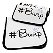 Quality World | 3-Pack Soft Baby Burp Cloths | Large 21 x 10  | 100% Organic Cotton | Water Resistant With 6 Absorbent Thick Cotton Layers | A Premium & Unique Design!
