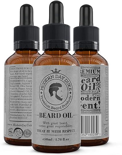 Modern Day Duke barba Acondicionador de aceite, barba y crema ...