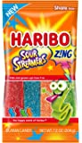 Haribo Gummi Candy, Z!NG Sour Streamers, 7.2 ounce (Pack of 14)