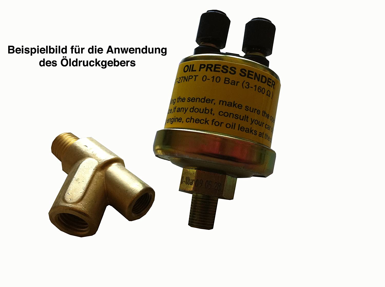 Raid HP 660429 Y Adaptor M10 x 1.0 for Oil Pressure Sensor Assembly