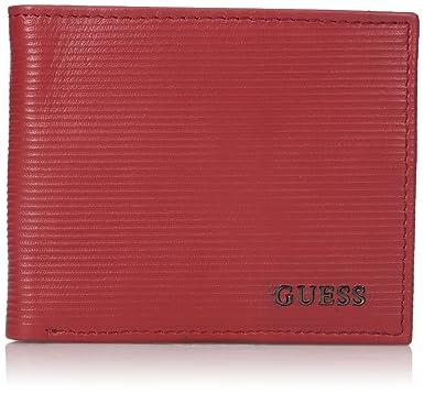 GUESS Hombres Billetera - Rojo -: Amazon.es: Ropa y accesorios