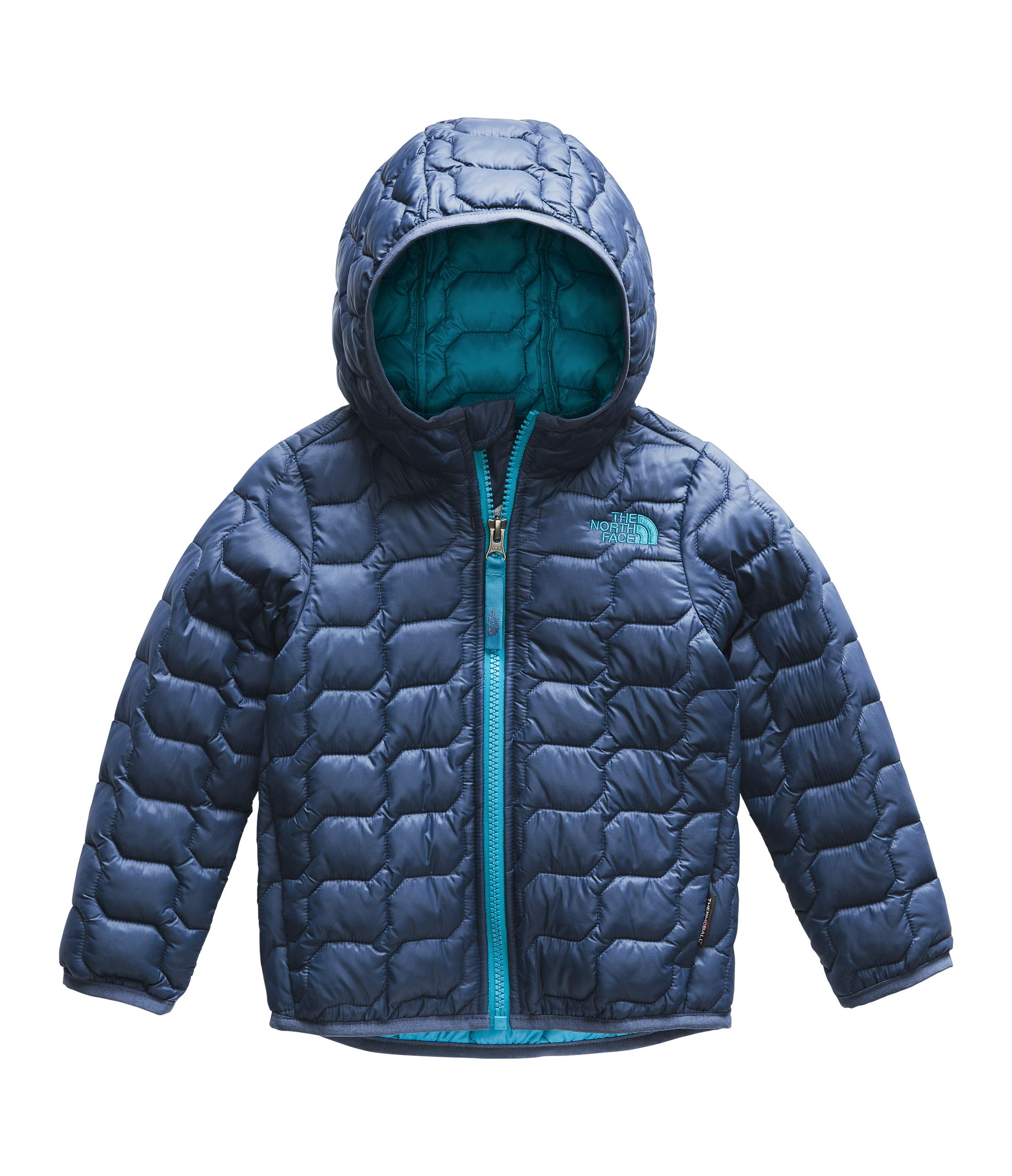 The North Face Kids Baby Boy's Thermoball¿ Hoodie (Toddler) Shady Blue 4T