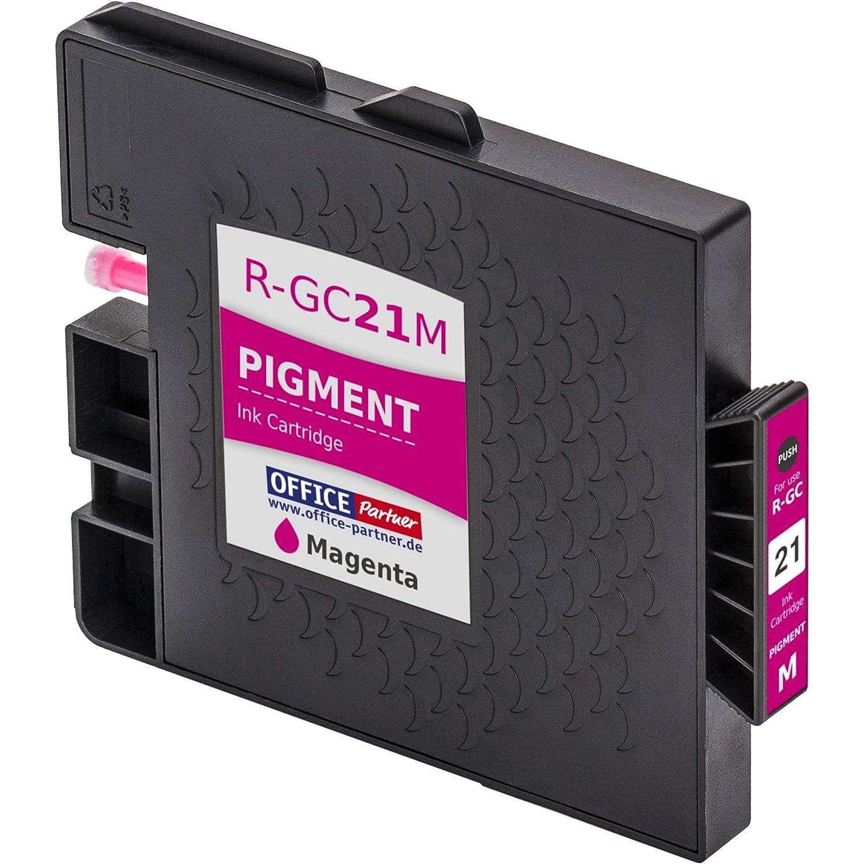 GX 3000 SFN multiPack 4 Cartuchos de tinta compatibles con chip para Ricoh GC 21 por ejemplo Lanier GX 7000 GX 3050 N GX 5050 N GX 3000 SF GX 3050 SFN Gestetner GelSprinter GX 2500 GX 7000 3000 Serie GX GX 3000 S NRG GelSprint GX 3000