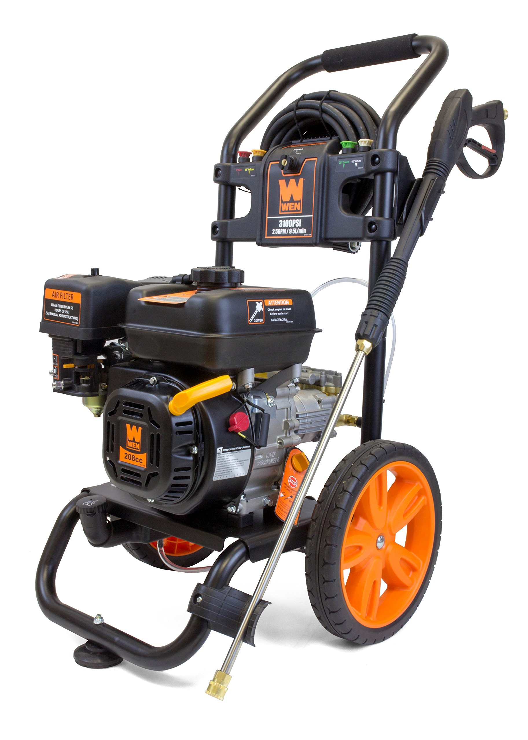 WEN PW31 3100 PSI Gas Pressure Washer, 208 cc product image