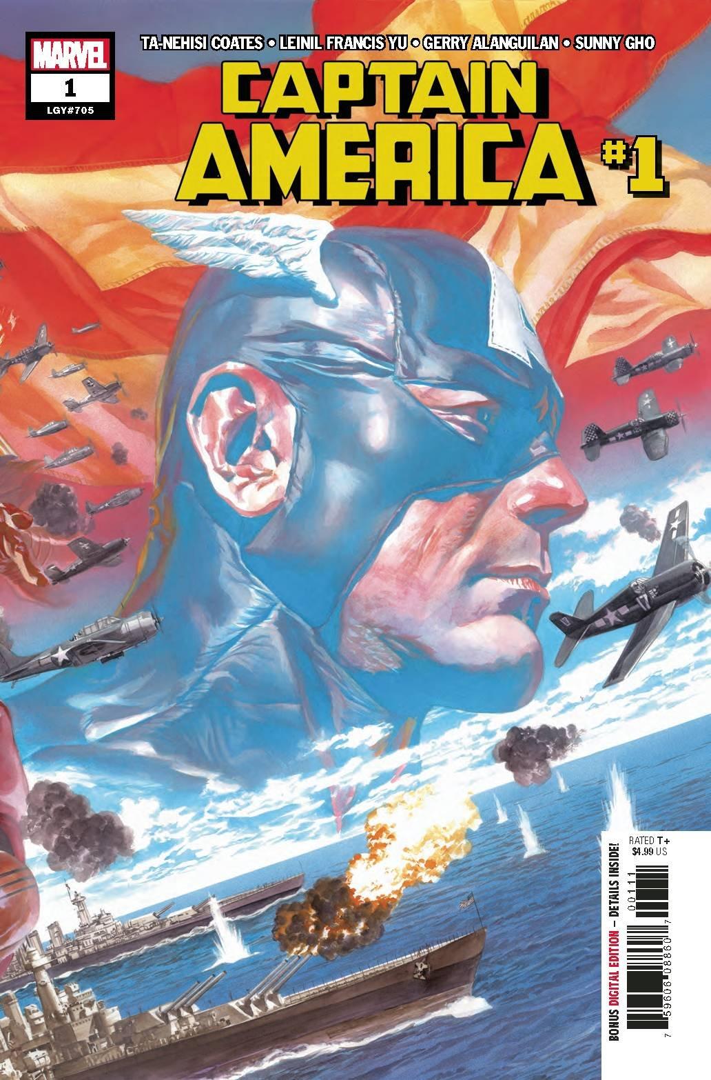 Read Online Captain America #1 Alex Ross Variant pdf epub