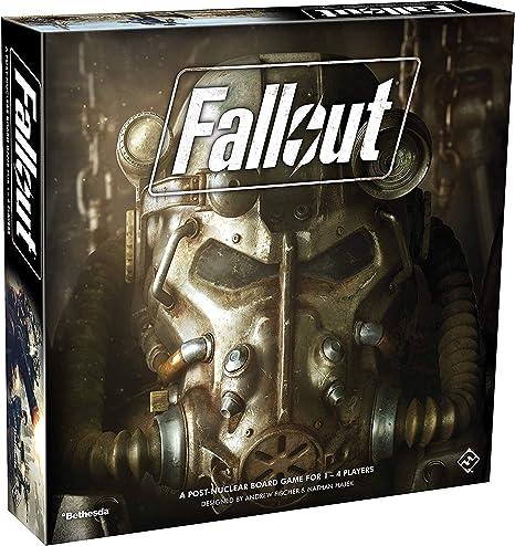 Fantasy Flight Games ZX02 FFGZX02 Fallout: el Juego de Mesa: Amazon.es: Juguetes y juegos