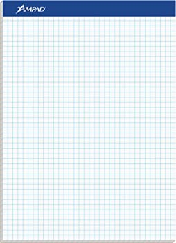 Ampad Writing Pad White Graph Paper
