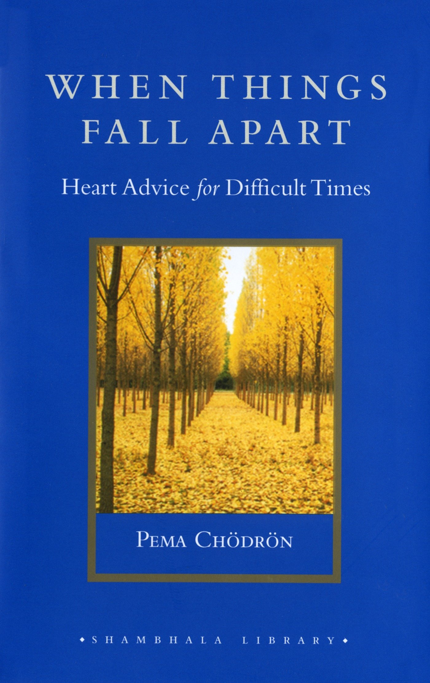 Amazoncom When Things Fall Apart Heart Advice For Difficult Times