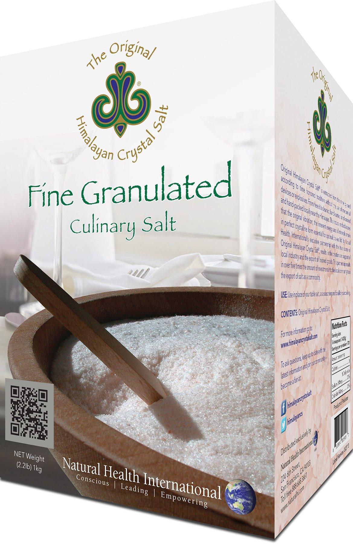 HIMALAYAN CRYSTAL SALT Salt Fine Granulated, 35.27 Ounce