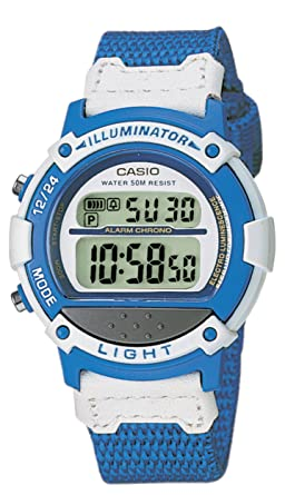 Armbanduhr kinder digital  Casio Collection – Damen-Armbanduhr mit Digital-Display und ...