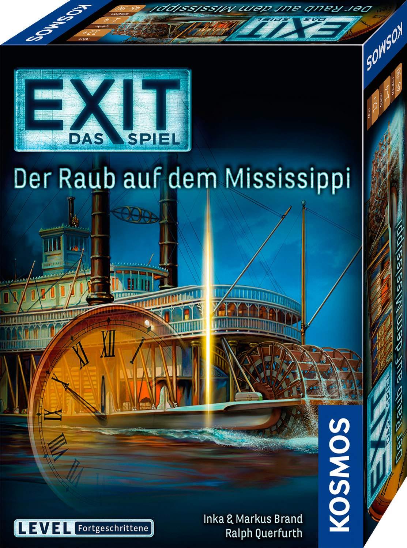 EXIT - Der Raub auf dem Mississippi: 1 - 4 Spieler: Amazon.es ...