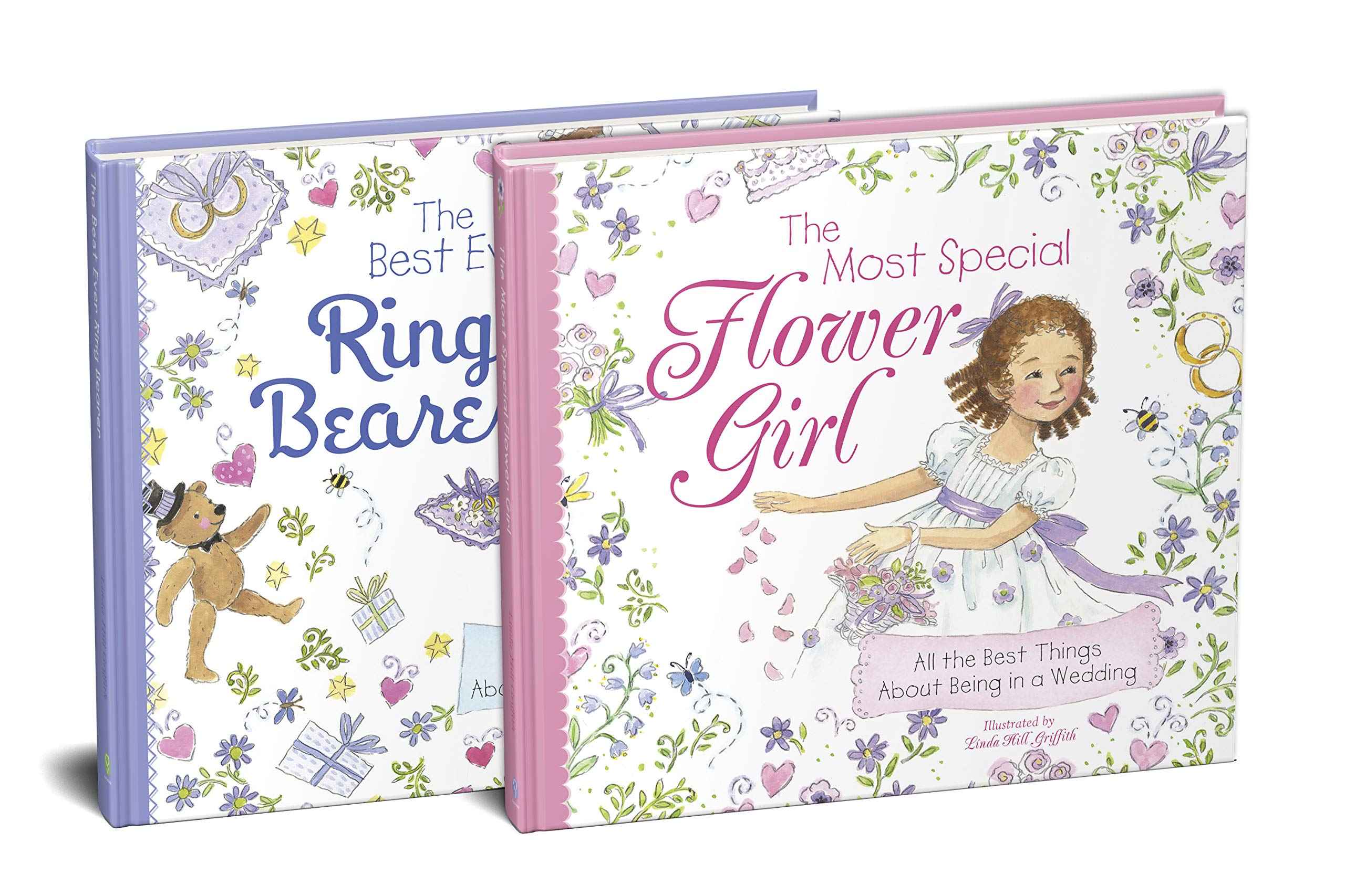 The Flower Girl and Ring Bearer 2-Book Wedding Gift Set by Sourcebooks