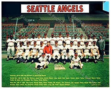 1967 Seattle Angels Triple AAA Pacific Coast League 8x10 Team Photo