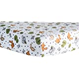 Trend Lab Crib Sheet, Forest Animal