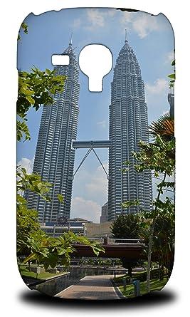 Amazon com: Petronas Twin Towers Wonders 4 Hard Phone Case