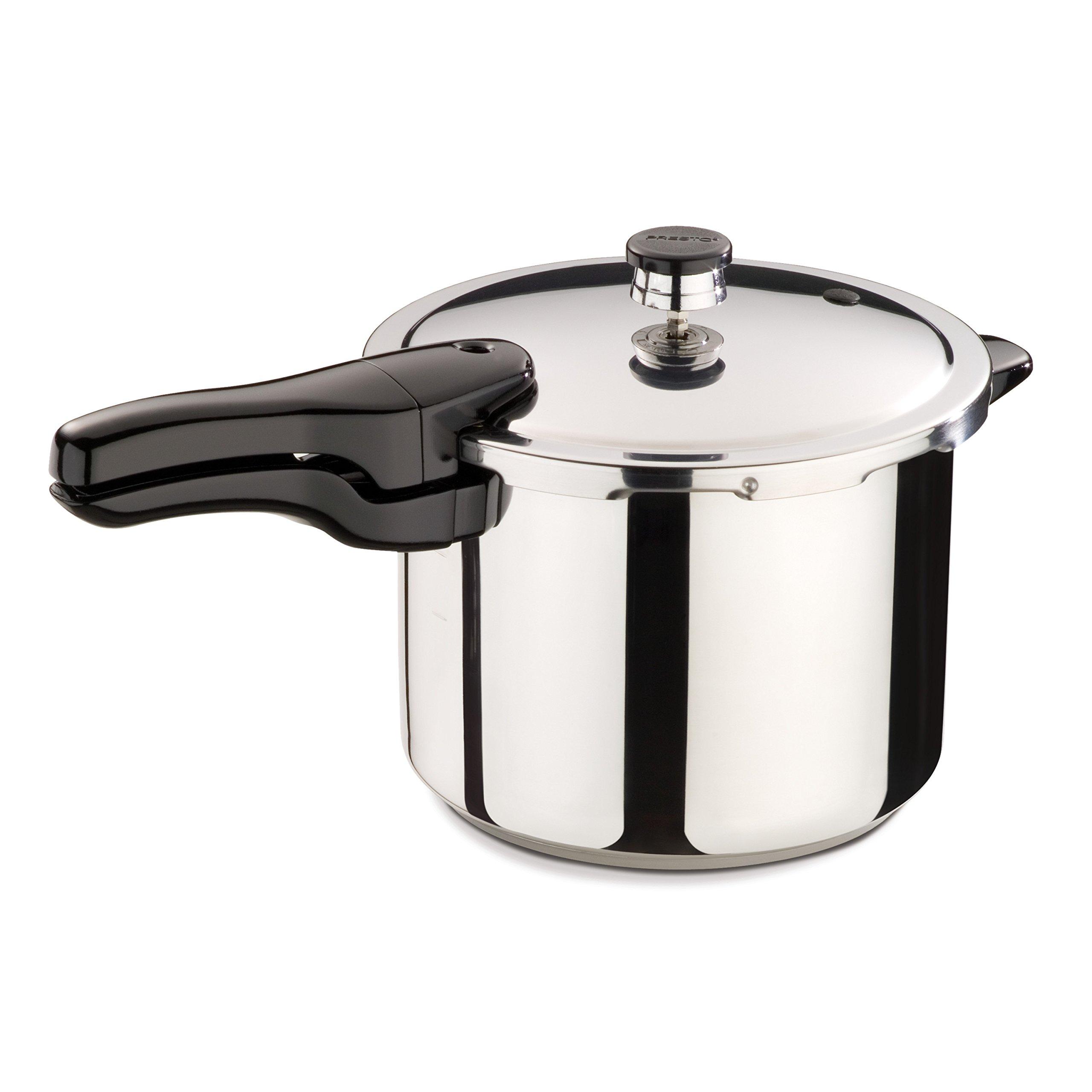 Presto 01362 6-Quart Stainless Steel Pressure Cooker by Presto