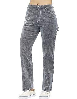 b2282c6b60abc Amazon.com  Dickies Girl Juniors  Wide-Leg Twill Pants  Clothing