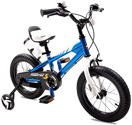 69a04a4080a Amazon.com : RoyalBaby BMX Freestyle Kid's Bike with Two Hand Brakes ...