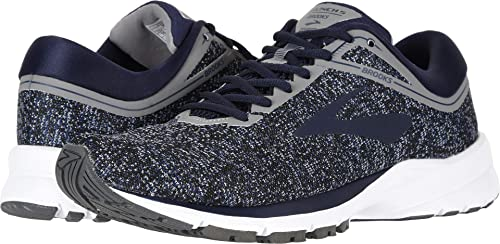Brooks Men s Launch 5 Navy Grey Ebony 10 D US