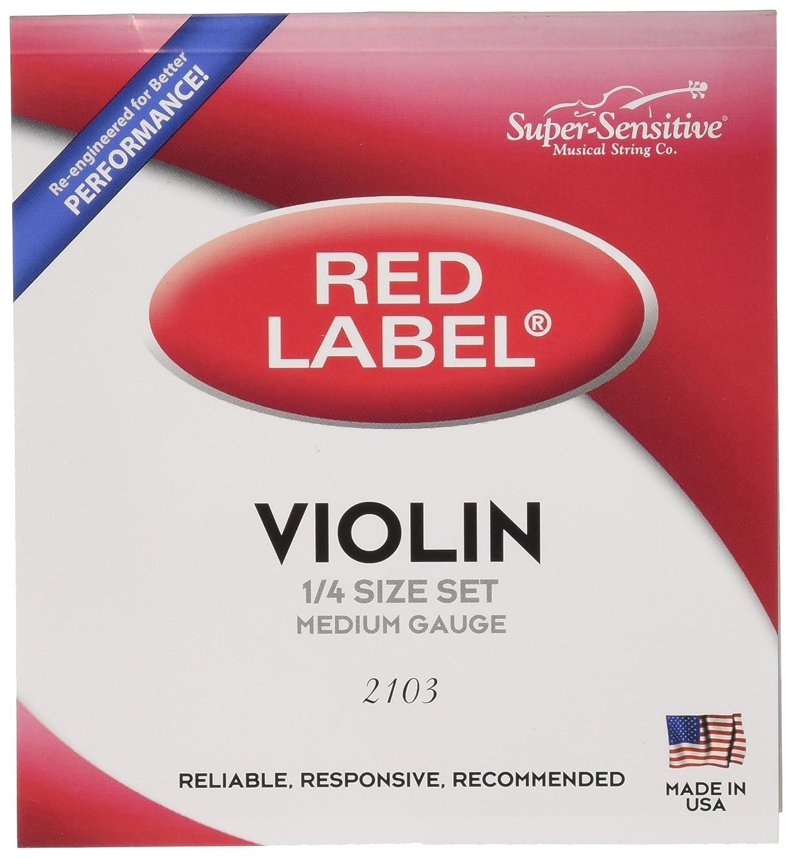 B0002D07F8 Super Sensitive Violin Strings (2103) 81HQoSwCgoL