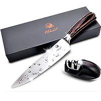 Chef Knife 8 Inch Sharpest Kitchen Knife Includes Chefs Knife Sharpener