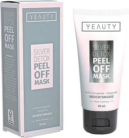 YEAUTY Silver Detox Mascarilla – Elimina impurezas y puntos negros – Alisa y refresca la piel – 1 x 50 ml