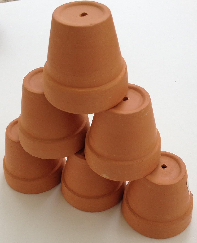 Amazoncom Pennington Mini Flower Pots 2 Terra Cotta 6 Pack