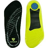 Sof Sole Fascia Plantar Comfort Gel Zapato Plantillas para Hombres y Mujeres con talón Juego de espuelas y Fascitis Plantar