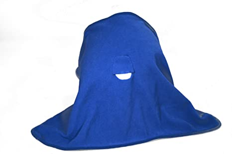 The Face Blanket - Royal Blue