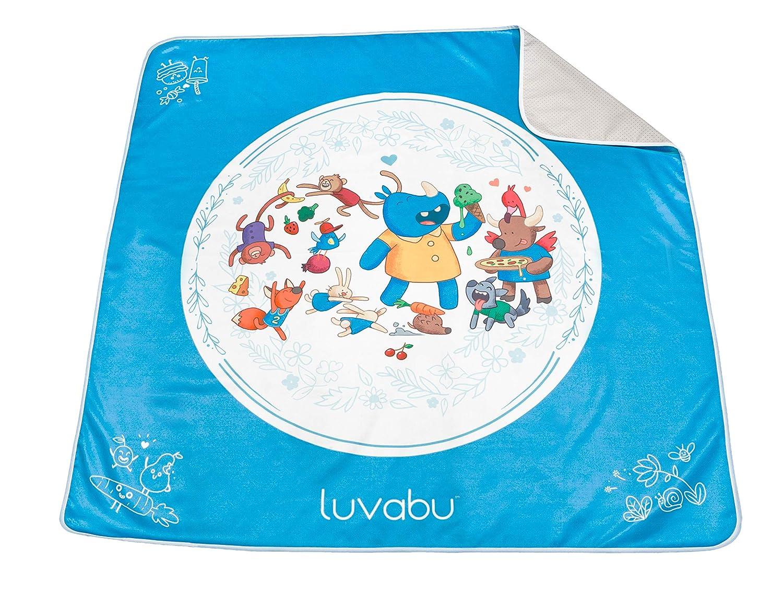 Luvabu Splat Mat for Under Highchair - 51