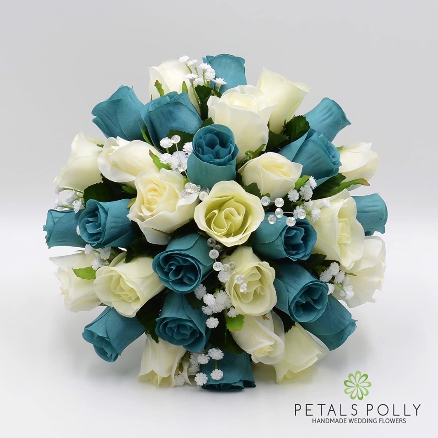 Silk Wedding Flowers Hand Made By Petals Polly Brides Bouquet