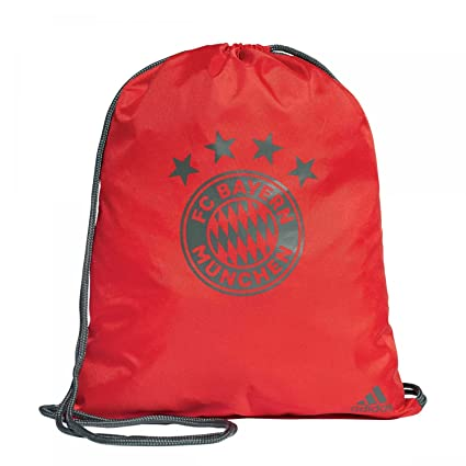 c3a33b52cb56 Image Unavailable. Image not available for. Color  adidas 2018-2019 Bayern  Munich Gym Bag (Red)