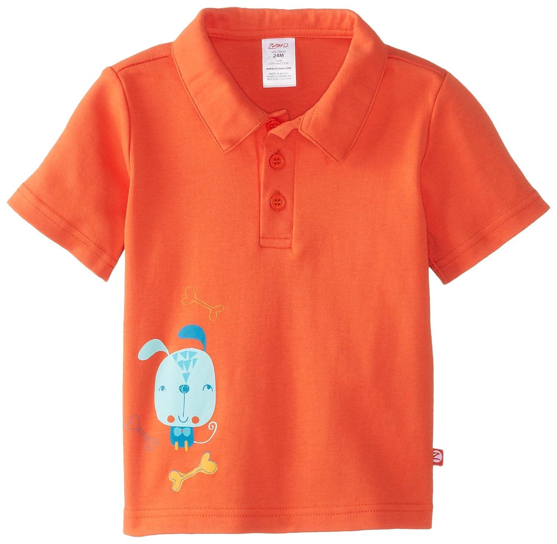 Zutano Baby Boys Beep Screen Polo Shirt