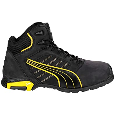 fe08b4bd2be Puma Safety Amsterdam Mid Mens Safety Boots  Amazon.co.uk  Shoes   Bags