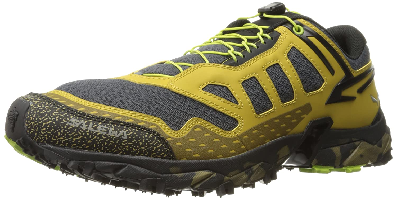 Salewa Ms Ultra Train - Zapatillas de Senderismo Hombre 48.5 EU|Amarillo/Negro (Zion/Monster 8624)