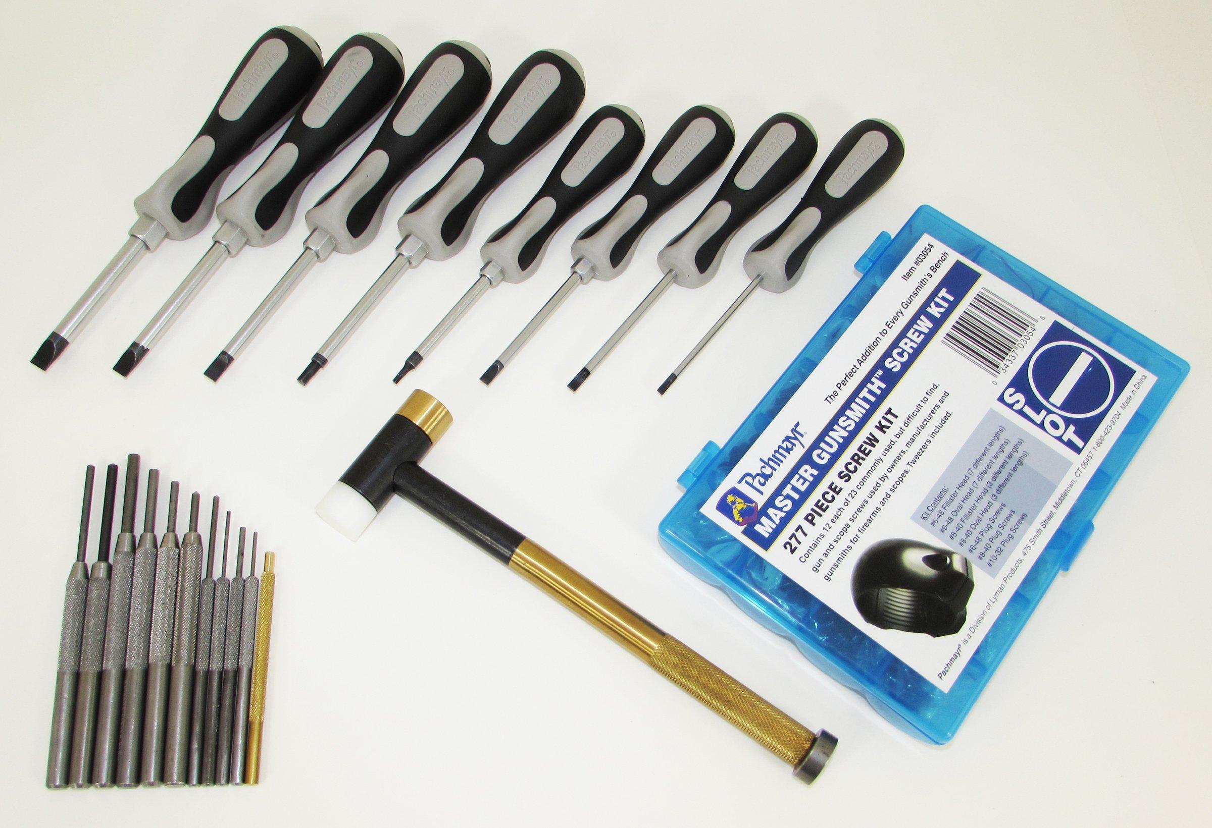 Pachmayr 03085 Master Gunsmith Ultimate Gunsmith Tool Set