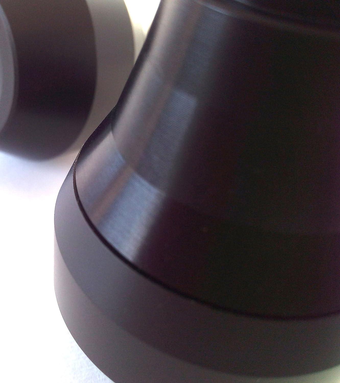 PRAIMATECH Coppia di tamponi slider paratelaio per Yamaha FZ1 e FZ8 colore nero