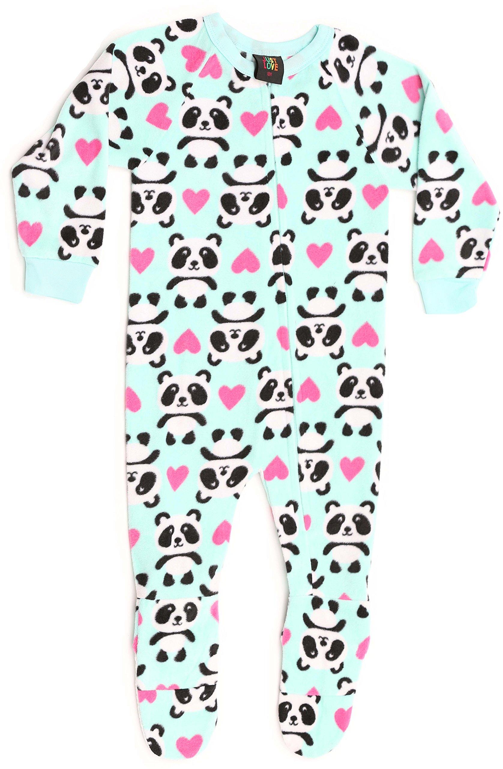 Just Love 95599-4-4T Footed Pajamas/Micro Fleece Blanket Sleepers