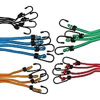 Buffalo Tools Búfalo herramientas bungee20Bungee Cord-Juego de 20piezas