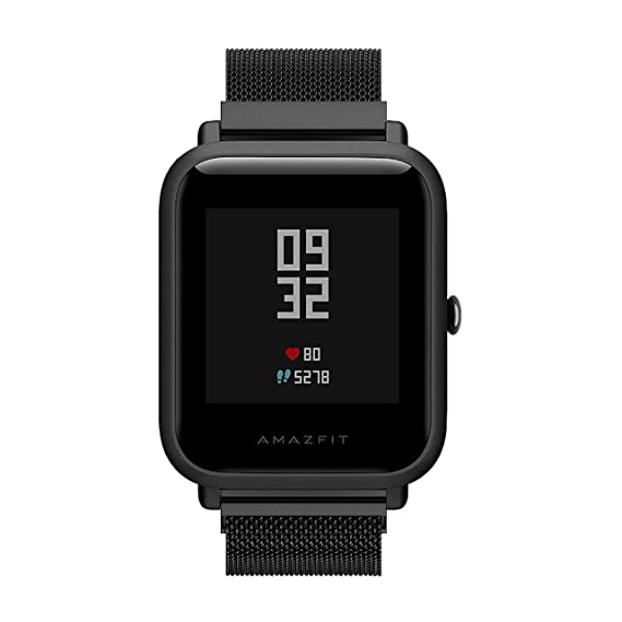 Amazon.com: Tabcover for Xiaomi Amazfit bands,20mm Milanese ...